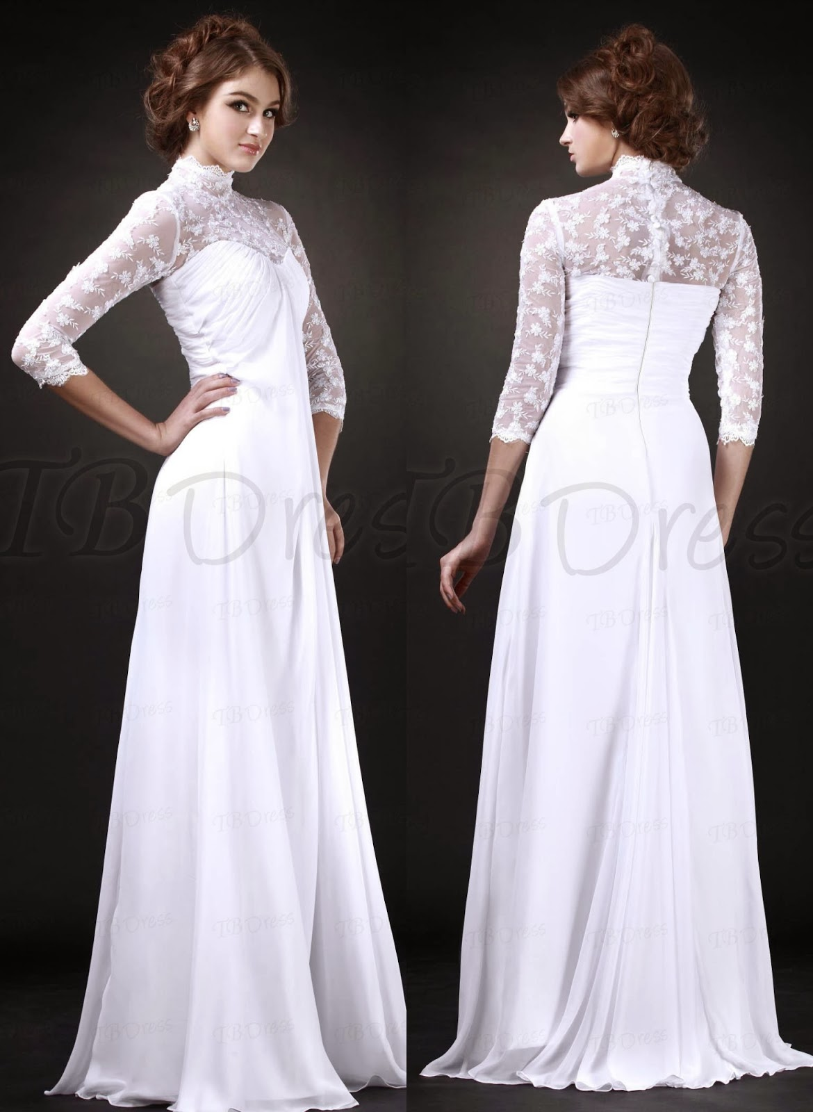 Maternity wedding dresses  LA BOHME