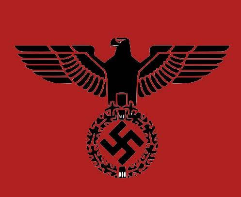 Nazi eagle vector