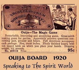 the origin and history of the ouija board 'ouija: origin of evil' is now in theaters nationwide ouija boards, even though they are sold as games, can be truly terrifying many believe that they are a gateway to communicating with the dead.