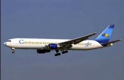 Private Plane of Google