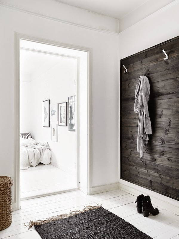 my scandinavian home small space inspiration in monochrome. Black Bedroom Furniture Sets. Home Design Ideas