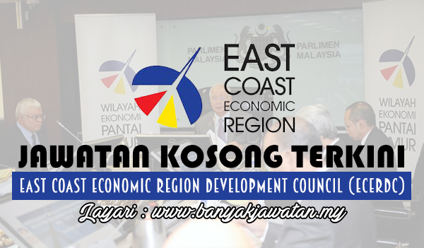 Jawatan Kosong 2017 di East Coast Economic Region Development Council (ECERDC)