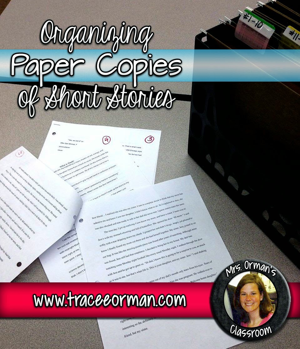 Organizing student short stories {click to read more}