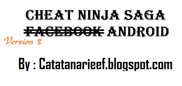 cheat token ninja saga android tanpa root