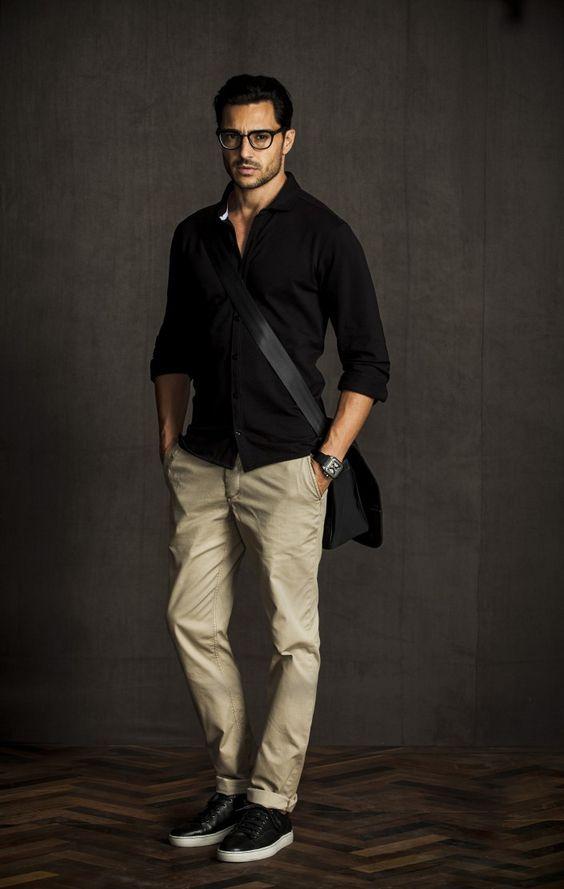 macho moda blog de moda masculina cal231a marrom