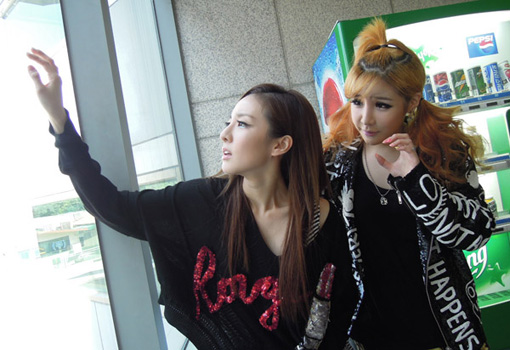 Now presenting...Sandara and Bom...as the tragic heroines | Snapped