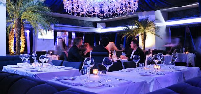 Noites nos restaurantes de Mônaco