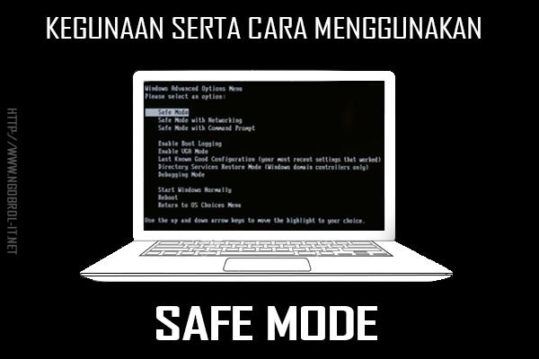 Kegunaan, Fungsi dan Cara Masuk Menggunakan Safe Mode Pada Windows
