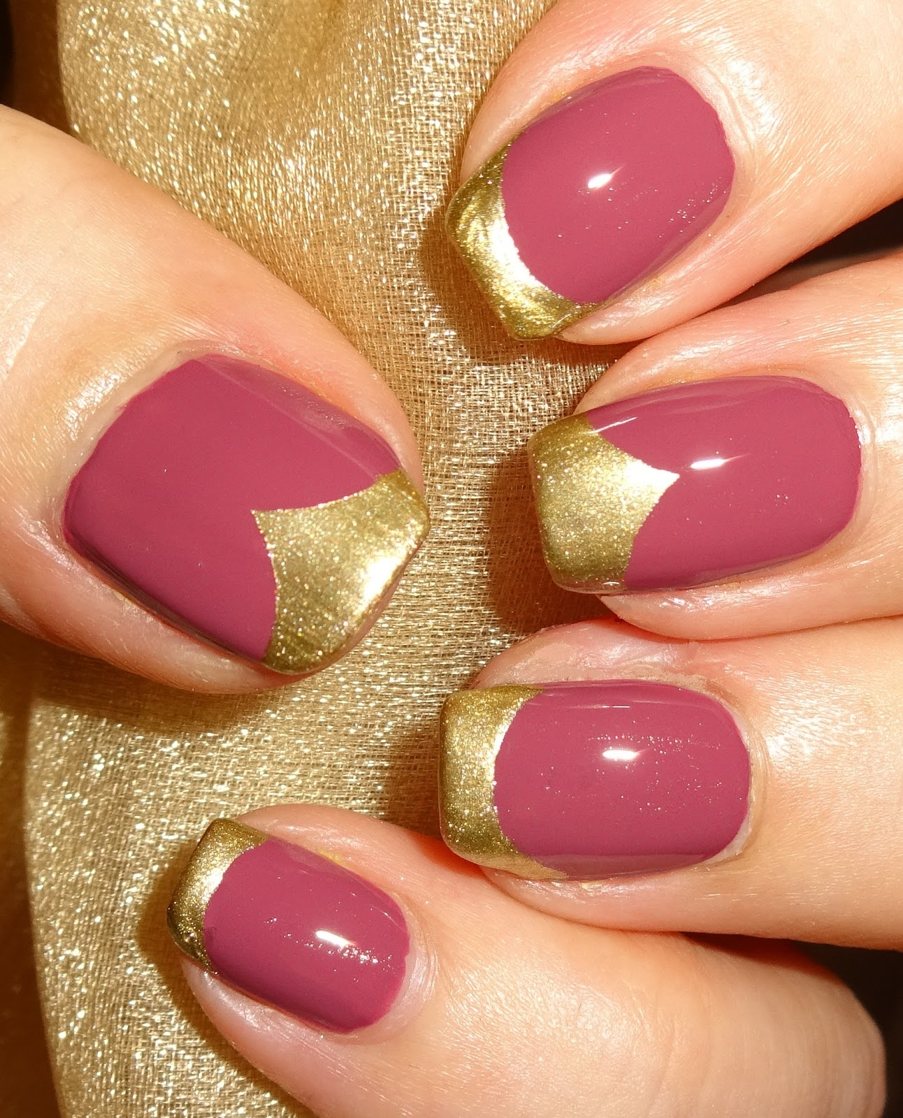 Half Well Nail Tips: Wendy's Delights: Half Moon Vinyl Nail Stencils From