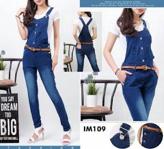Celana Jeans Model Kodok Panjang