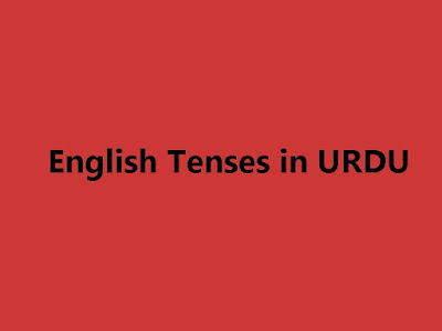 English Tenses Book in Urdu PDF