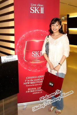 beauty blogger, lifestyle event at changi airport