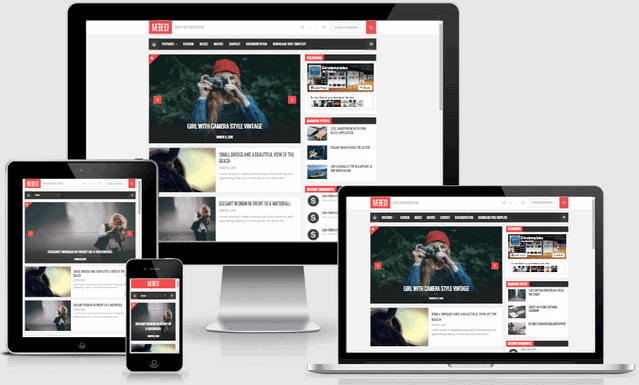 Meed Responsive Blogger Templates [High Quality]