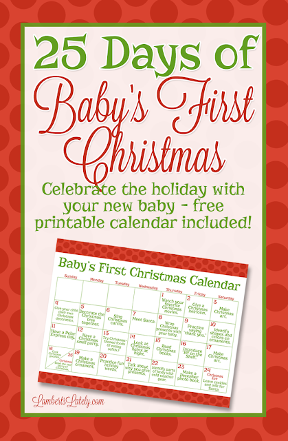 Love These Ideas For How To Celebrate A Babyu0027s First Christmas! This Post  Includes A