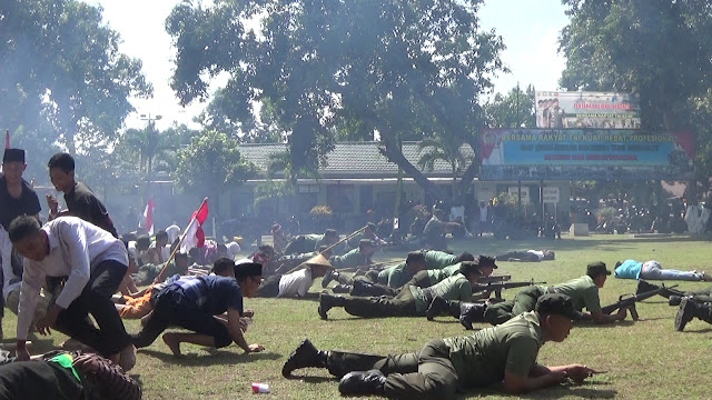 Historis Dalam Balutan Kolosal Warnai HUT TNI