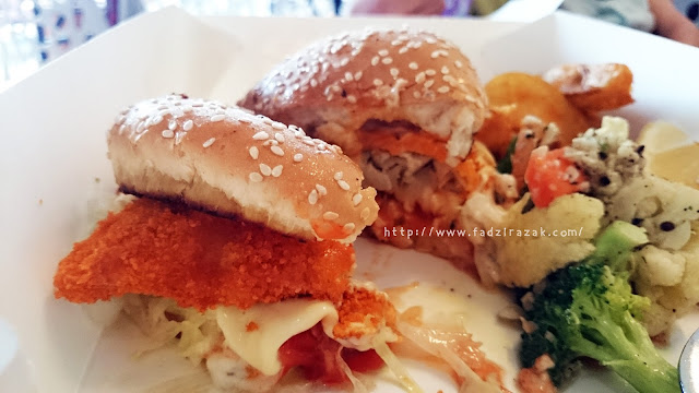 Burger Kerapu Bara