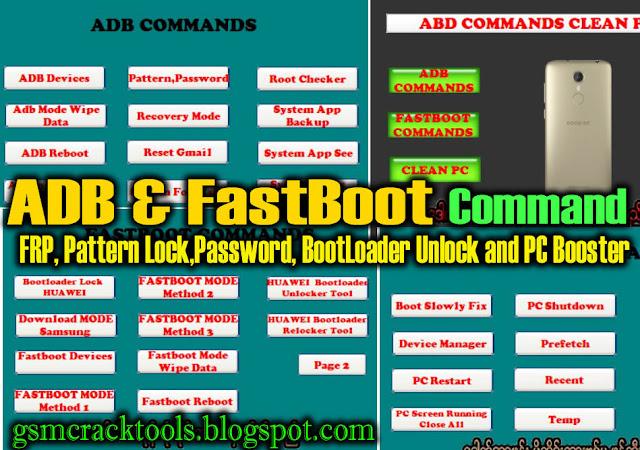 ADB & Fastboot Command Tool
