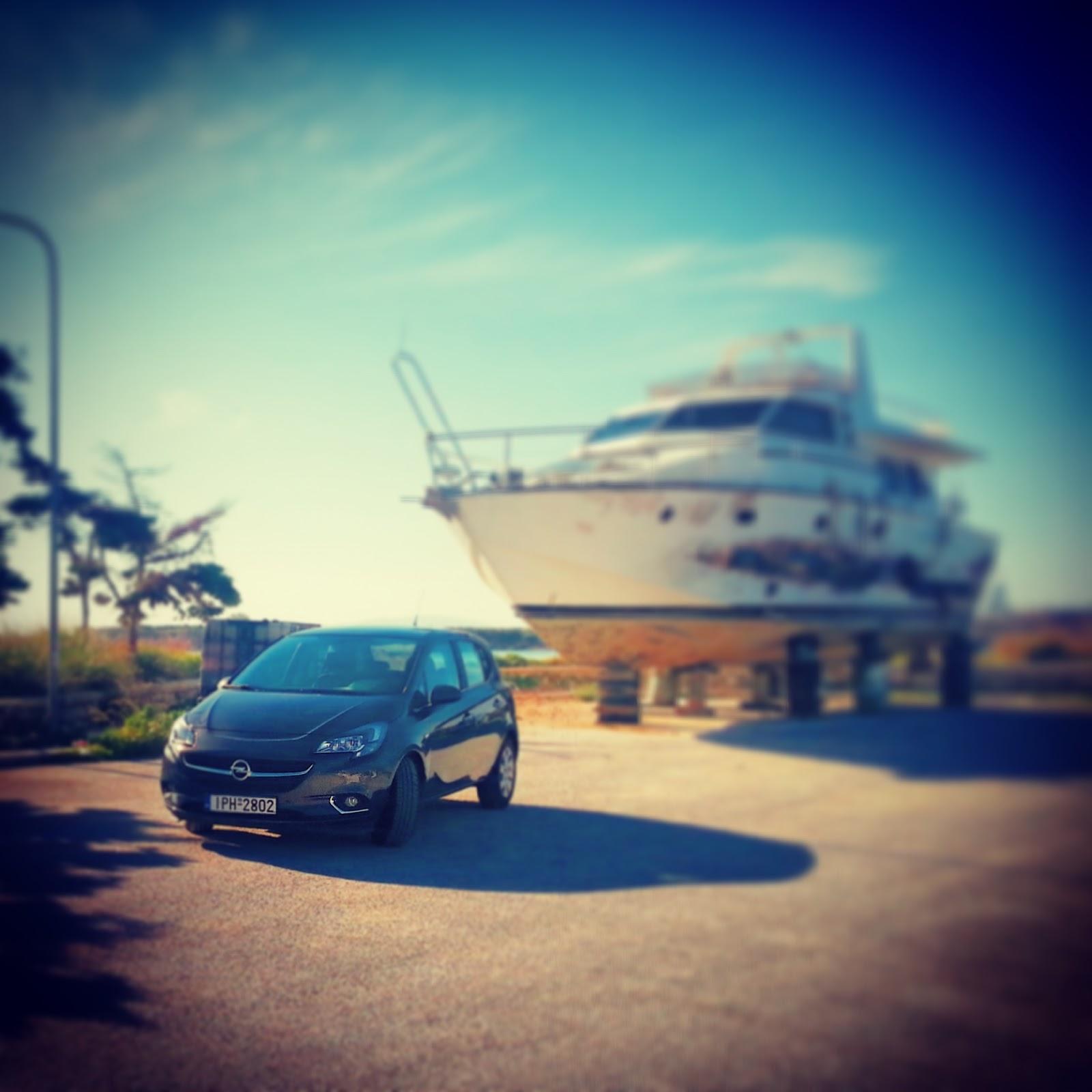F1 Δοκιμάζουμε το Opel Corsa 1,3 diesel