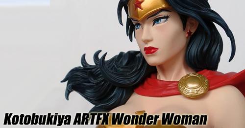 Kotobukiya 1/6 Wonder Woman ARTFX szobor bemutató