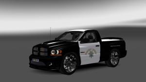 Dodge Ram California Highway Patrol Skin