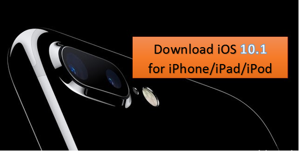 While updating or installing iOS 10.1 via OTA update or via iTunes, then you can download iOS 10.1 ipsw firmware file for iPhone, iPad and iPod touch using the direct iOS 10.1 download links