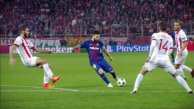 UEFA-Group-D-4 Olympiacos 0 vs 0 Barcelona 31-10-2017