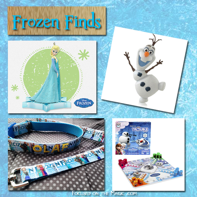 """Frozen"" Hallmark Keepsake Ornaments"