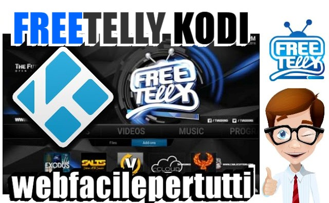 FreeTelly | La Versione Modificata Di Kodi Con Gli Add-on Gia Installati Per Guardare Il Meglio Del Calcio In Streaming