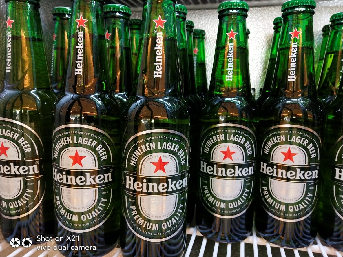 Vivo X21 Main Cameras Sample - Close-up, Heineken Beers