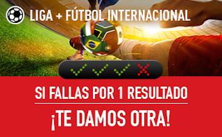 sportium promocion combinadas de Fútbol 20-22 octubre