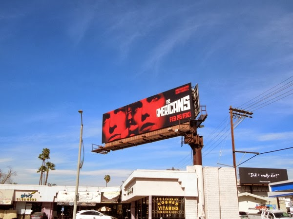 The Americans 2 billboard