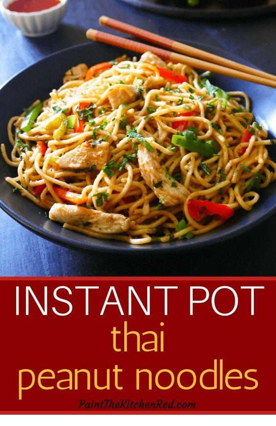 Instant Pot Thai Peanut Noodles