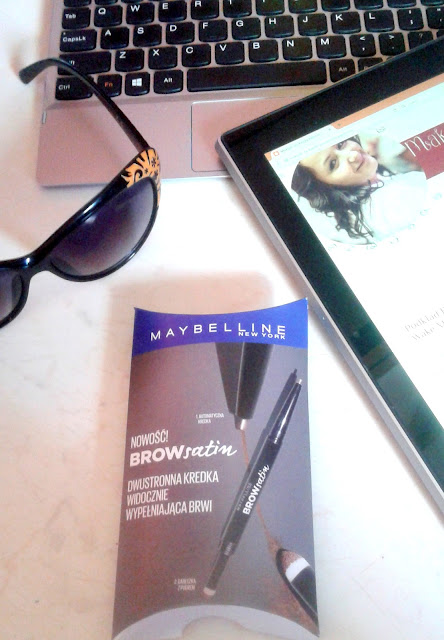 Kredka do brwi Maybelline BrowSatin