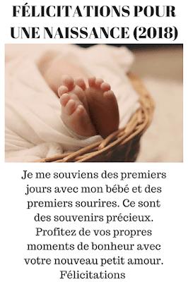 vœux pour bébé : félicitation de naissance