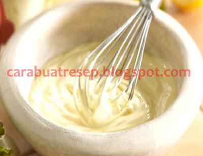Foto Resep Mayonaise Sederhana Buatan Sendiri Ala Rumahan (Homemade) Spesial Asli Enak