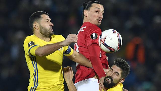 Manchester United vs Rostov