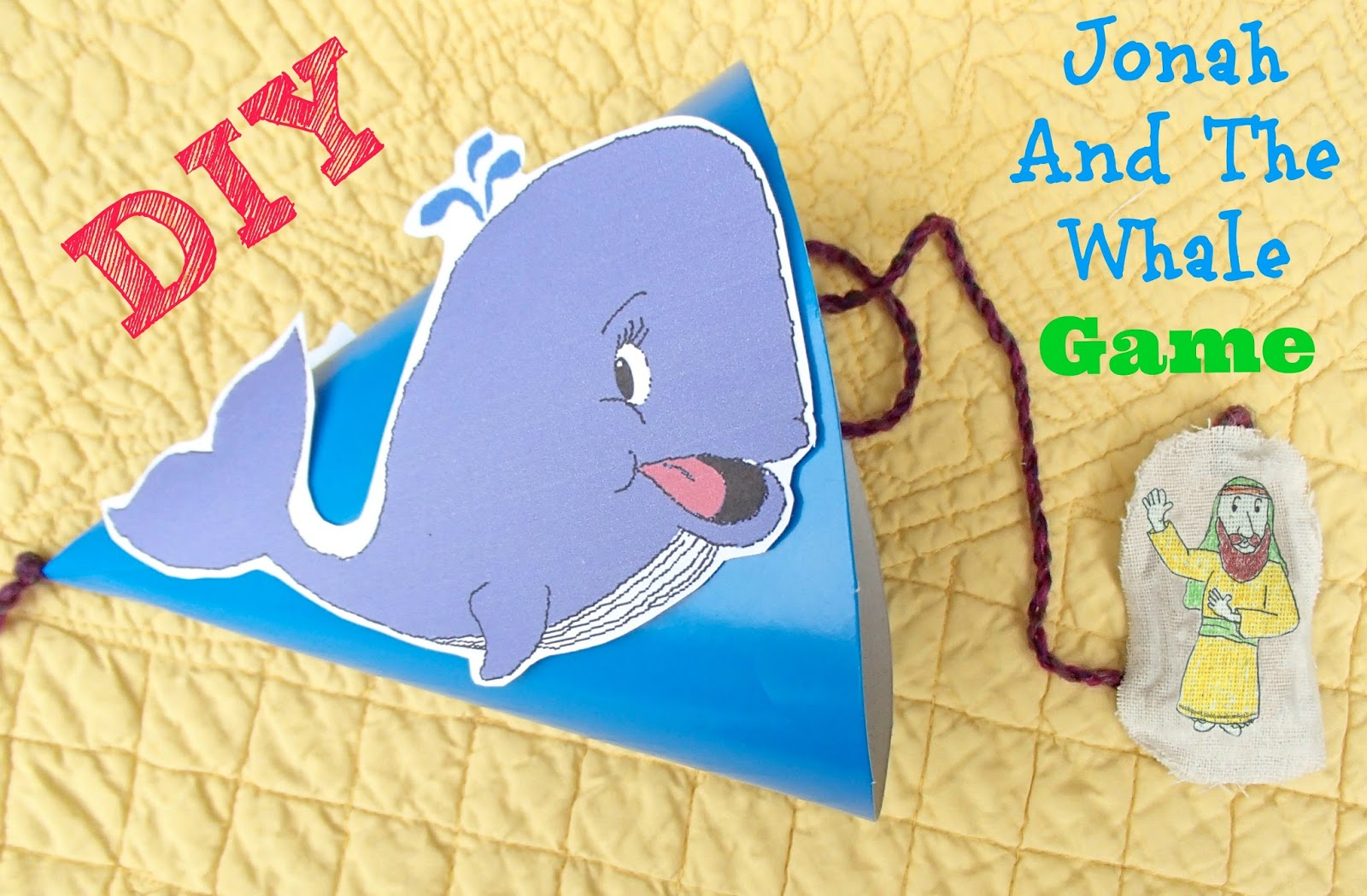Jonah And The Whale Craft Sunday School