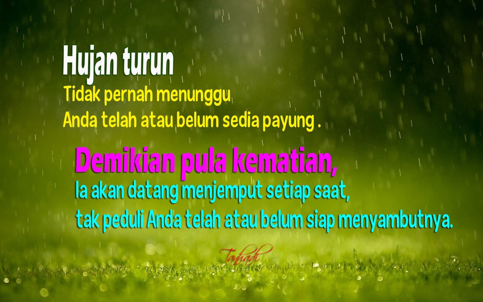 Hujan Dan Kematian