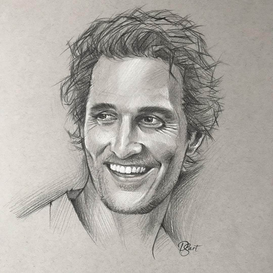 07-Matthew-McConaughey-Pepper-Strokes-Traditional-Drawings-Pencils-and-Pens-www-designstack-co