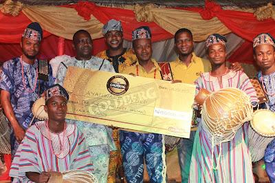 Otapo Bata Drummers, Winner Of  Goldberg's Excellency Cultural Contest Tour  ln Abeokuta-BolaEshosBlog