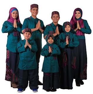 Setelan Baju Muslim Untuk Keluarga Di Hari Lebaran 2017
