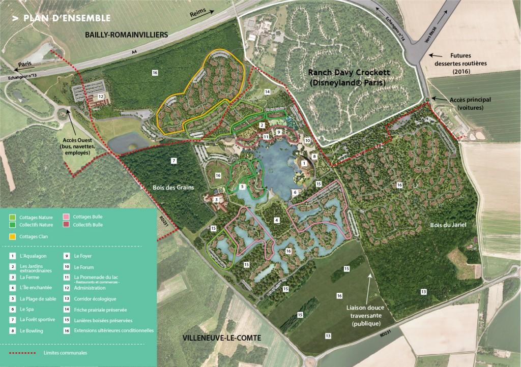 plans parc disney