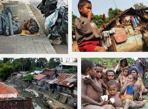 gambaran kemiskinan dan cara mengatasi kemiskinan