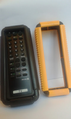 Image result for tv remote covered in remote guard