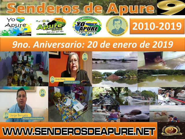 VIDEO: 9no. Aniversario de Página Web Senderos de Apure.net.