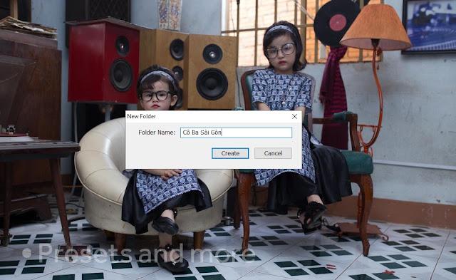 preset cô ba Sài Gòn