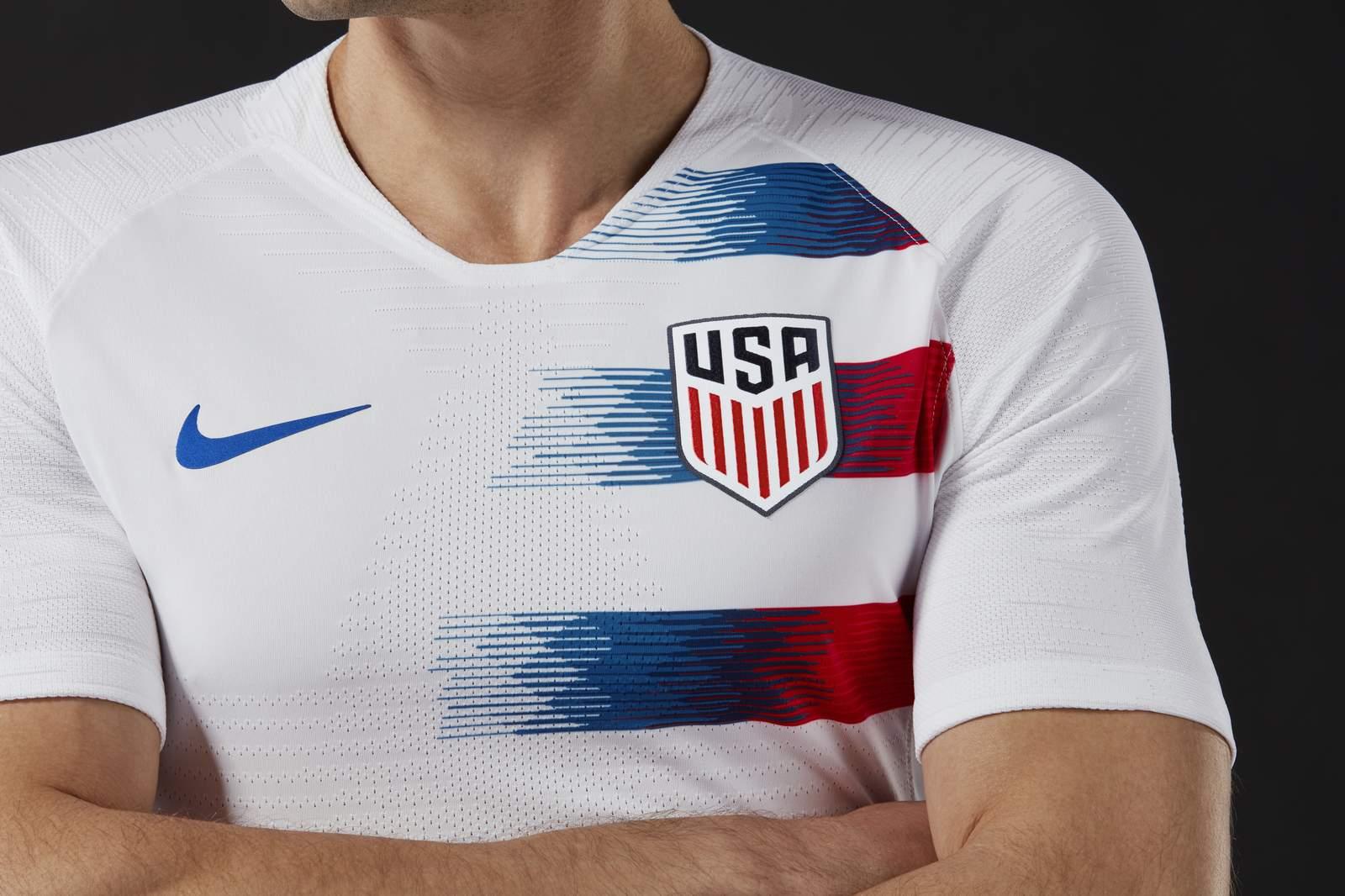 dc89f3cd1 Nike USA 2018 Home Kit Revealed - Footy Headlines
