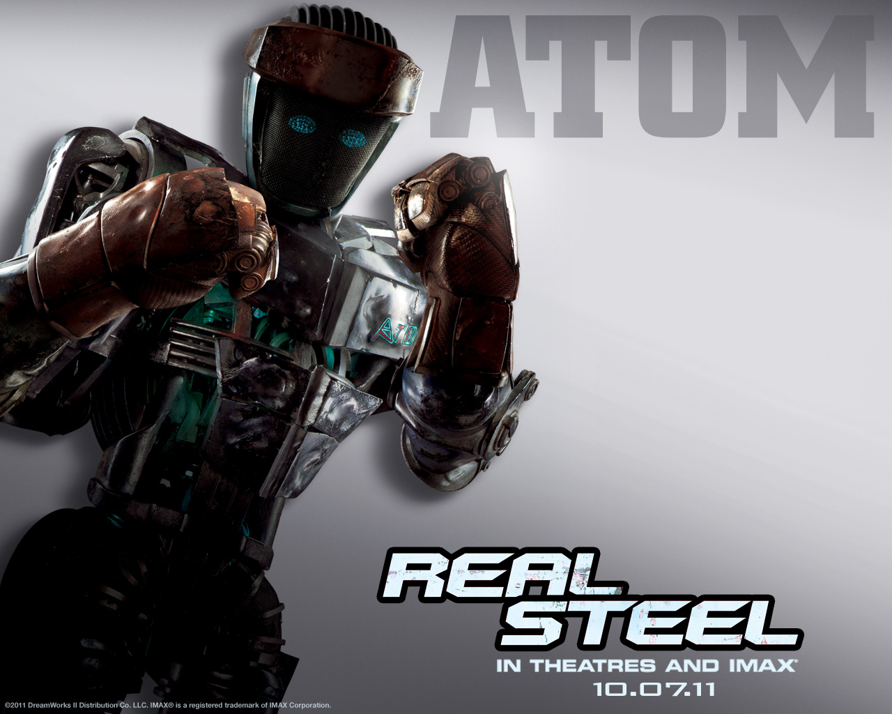 """Cinema Life: """"Real Steel"""" (2011) - Posters and some thoughts"""