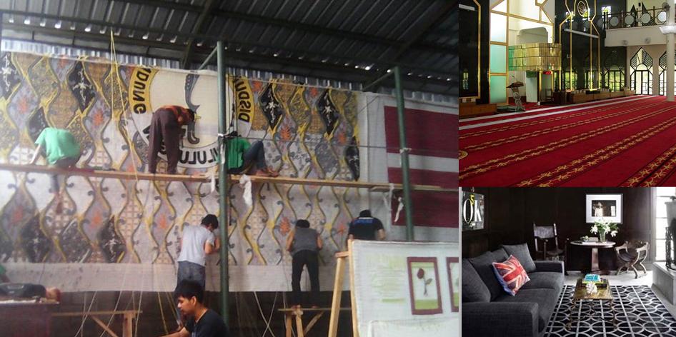 Pabrik Karpet CIlame Ngamprah Kabupaten Bandung Barat