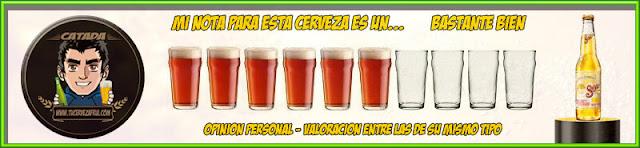 Valoración cerveza Sol